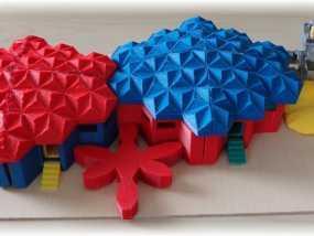 火星基地模型 3D模型