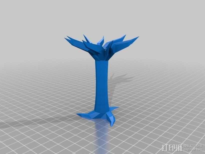树模型 3D模型  图1
