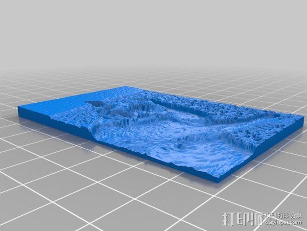 猫咪透光浮雕  3D模型  图2