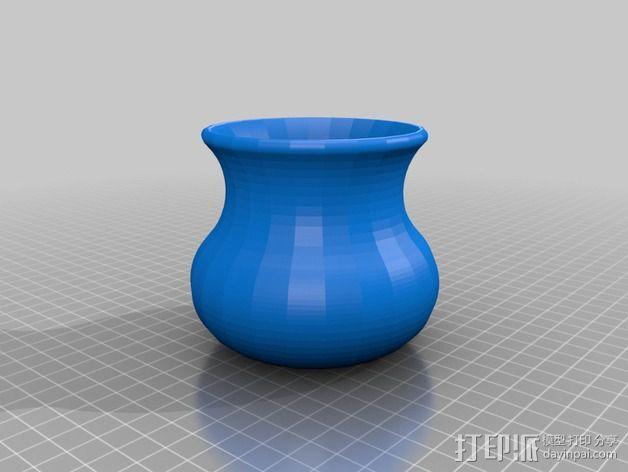 传统花瓶 3D模型  图1