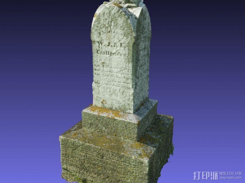 墓碑 3D模型  图4