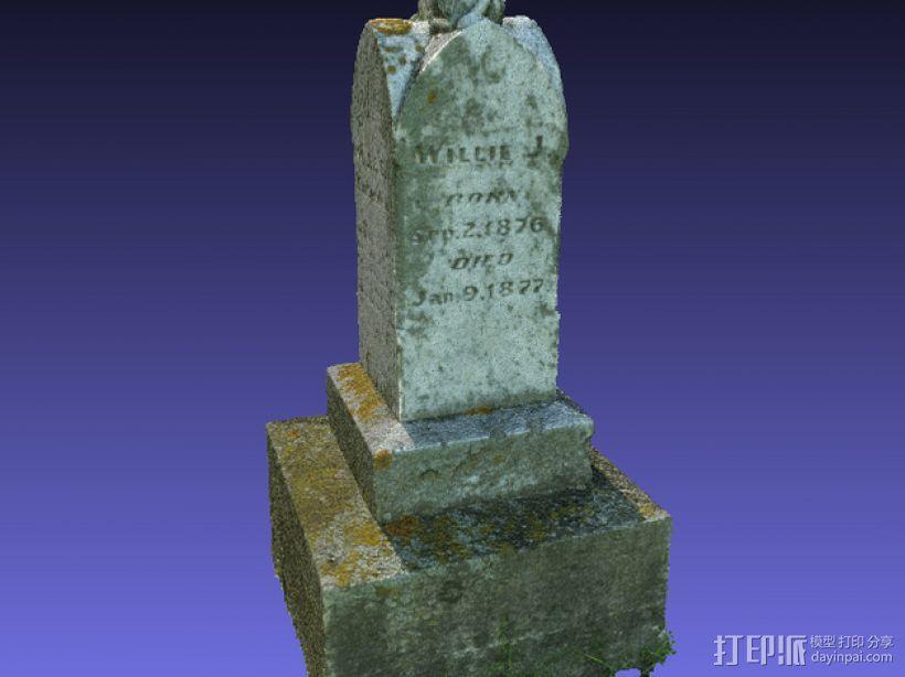 墓碑 3D模型  图5