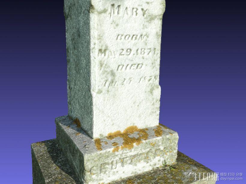 墓碑 3D模型  图7
