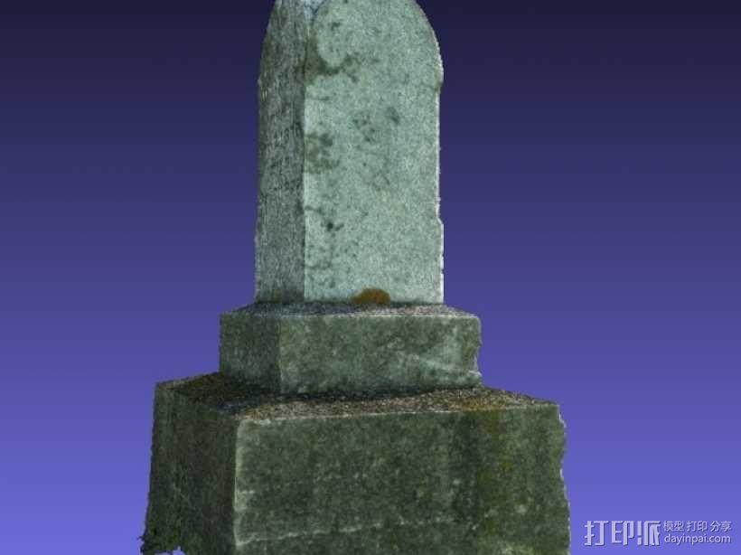 墓碑 3D模型  图6