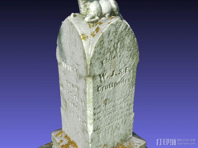 墓碑 3D模型  图8