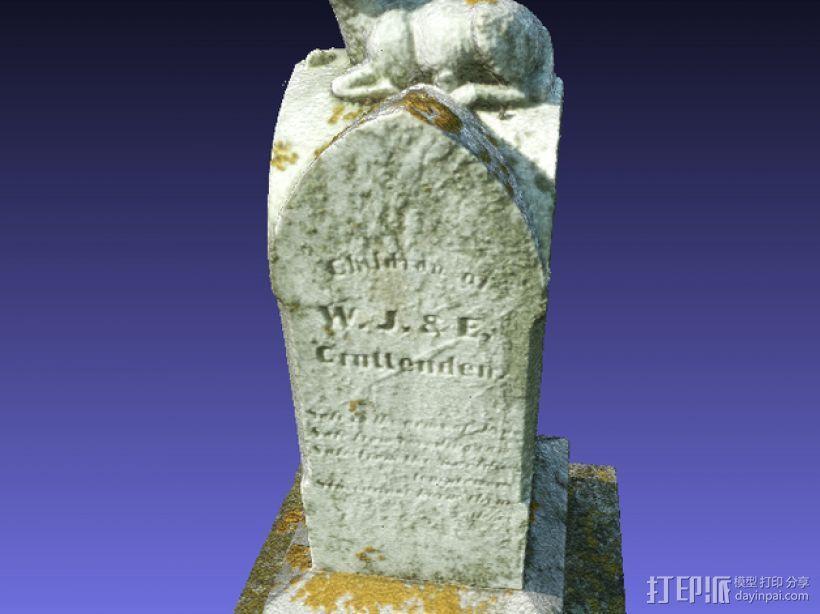 墓碑 3D模型  图9