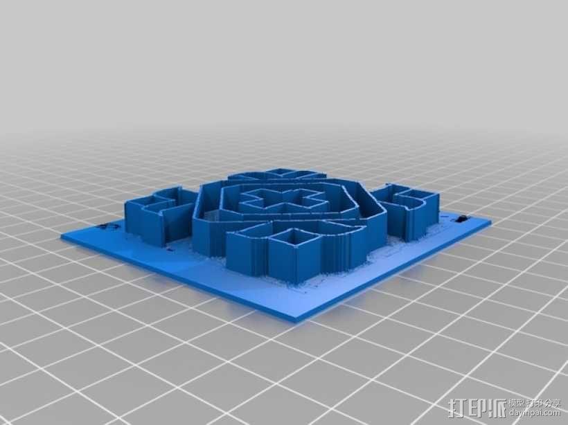 蓝果丽 3D模型  图1