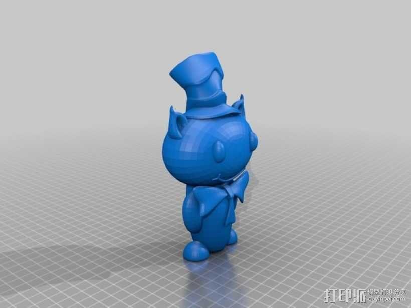 Reddit玩偶模型 3D模型  图1