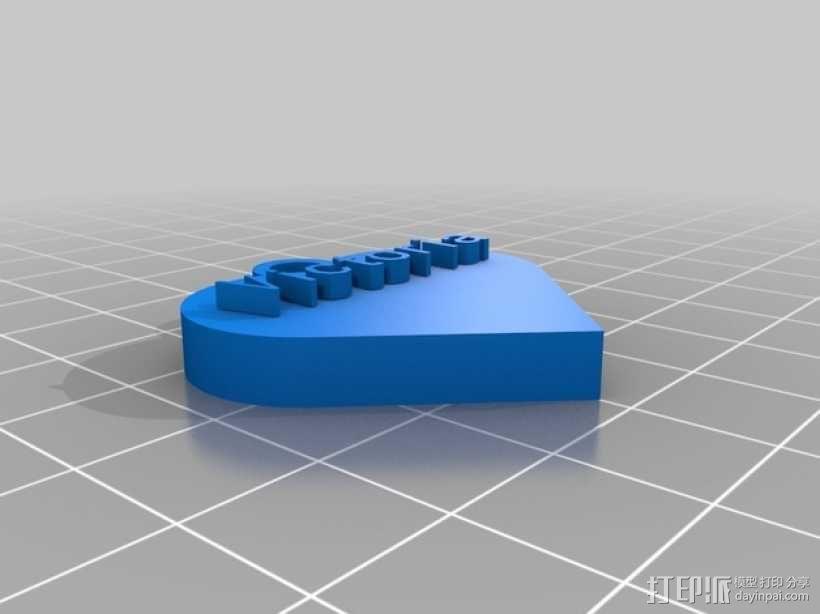 维多利亚的心 3D模型  图1