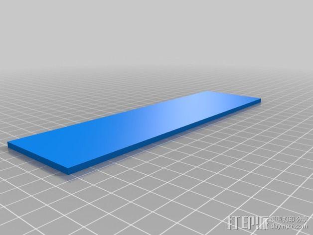 名牌 标签 3D模型  图3