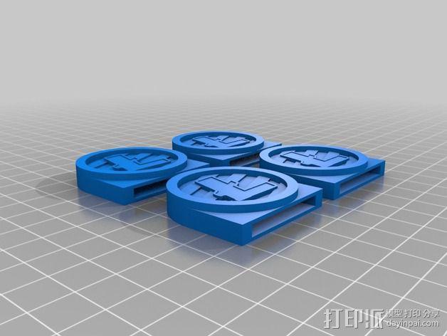 莱特币  3D模型  图3