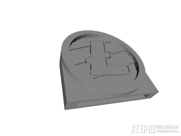 莱特币  3D模型  图5