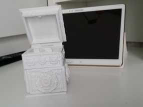 复古小方盒 3D模型