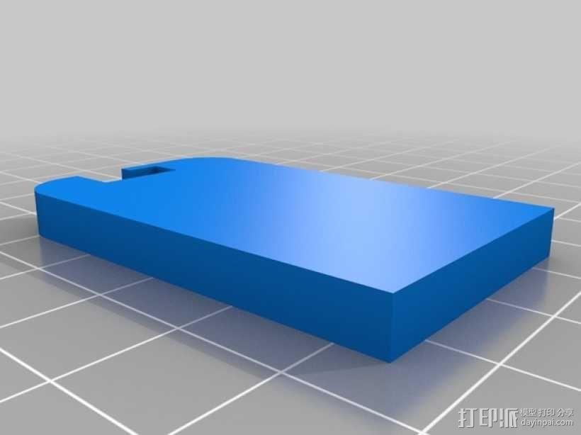 复古小方盒 3D模型  图3
