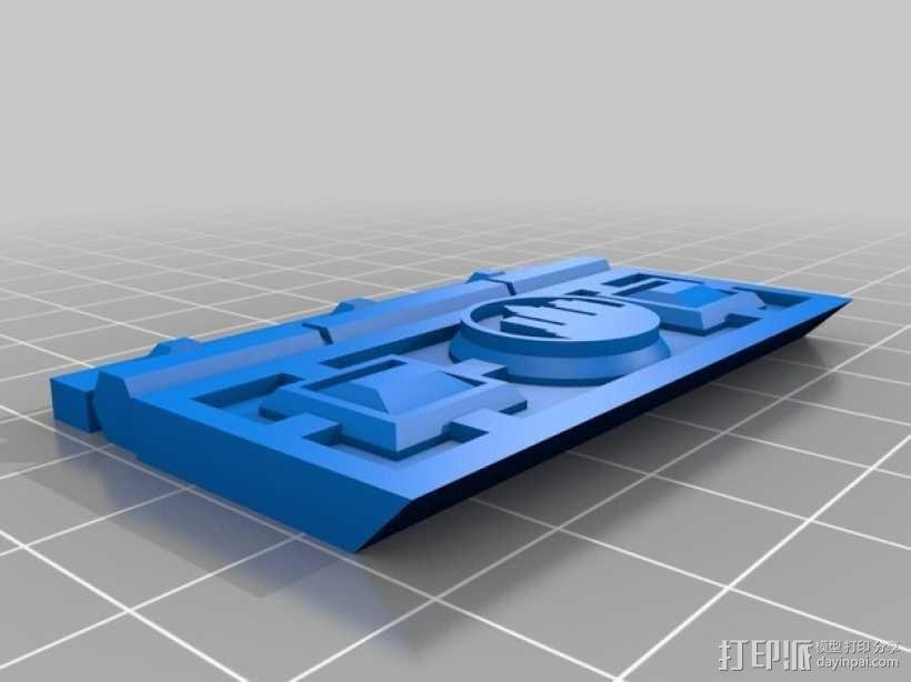复古小方盒 3D模型  图7
