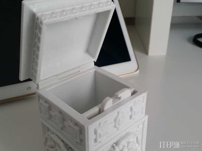 复古小方盒 3D模型  图12