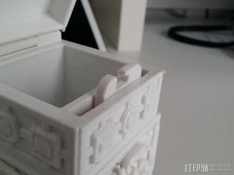 复古小方盒 3D模型  图14