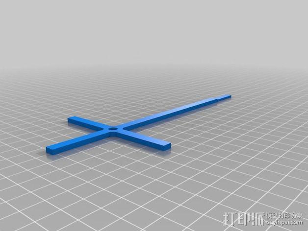 十字架 3D模型  图3