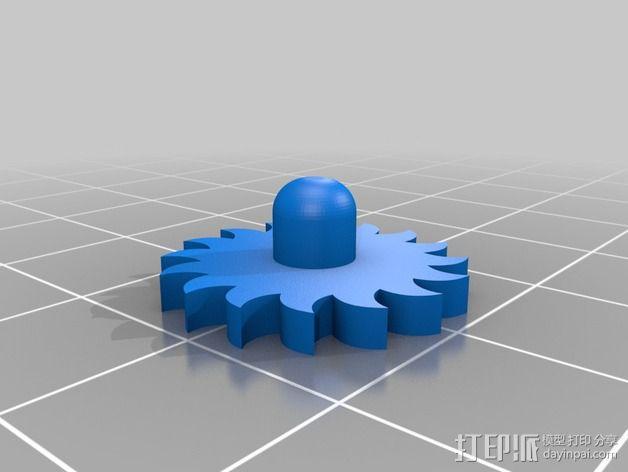 十字架 3D模型  图5