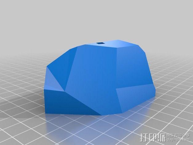 十字架 3D模型  图4