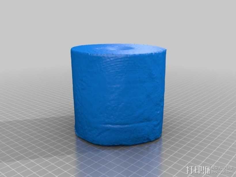 卷纸模型 3D模型  图1