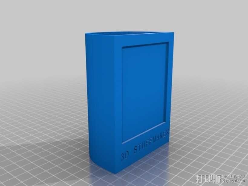 相框式笔筒 3D模型  图1