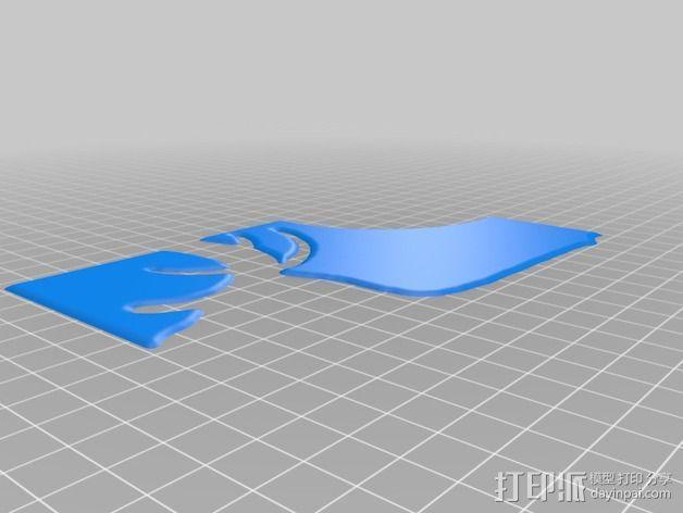 小鹿画板 拼接板 3D模型  图3