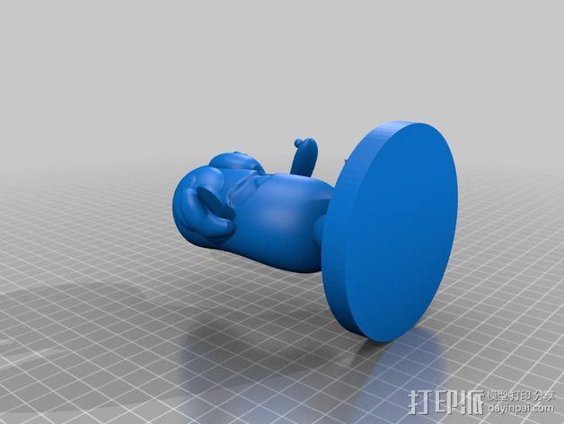 雨花石吉祥物模型 3D模型  图8
