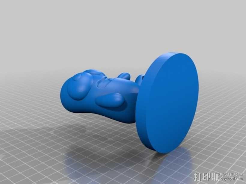 雨花石吉祥物模型 3D模型  图9