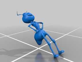 蚂蚁模型 3D模型