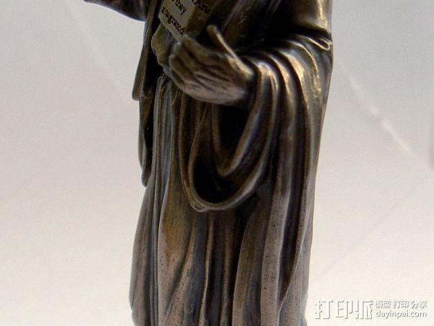 耶稣雕塑 3D模型  图4