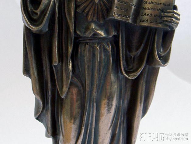 耶稣雕塑 3D模型  图6