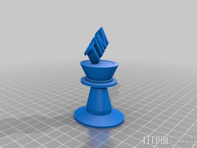 Tim 为王 3D模型  图1