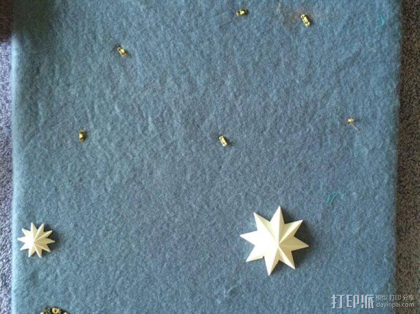 闪亮的星星 3D模型  图3