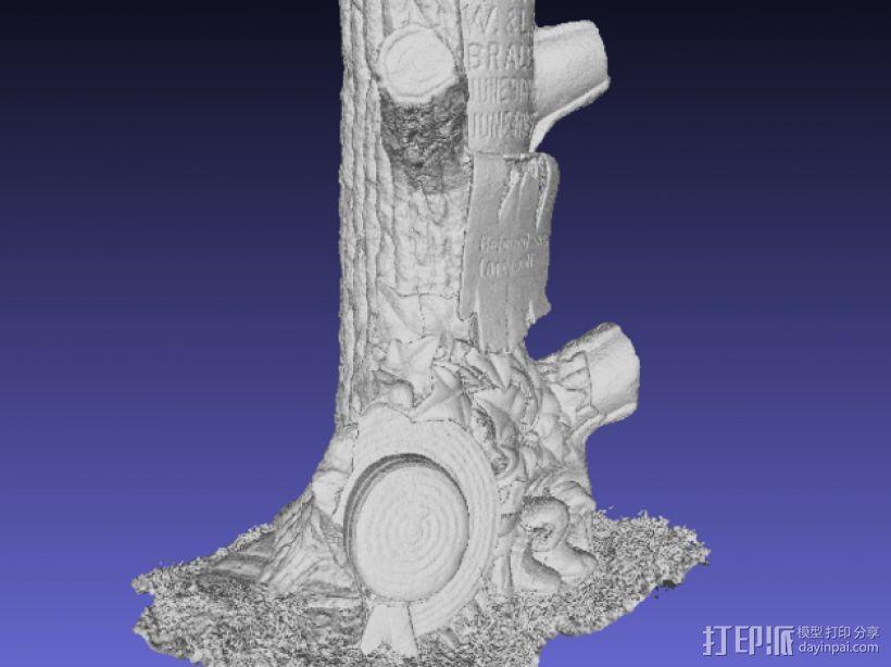 树形墓碑模型 3D模型  图4