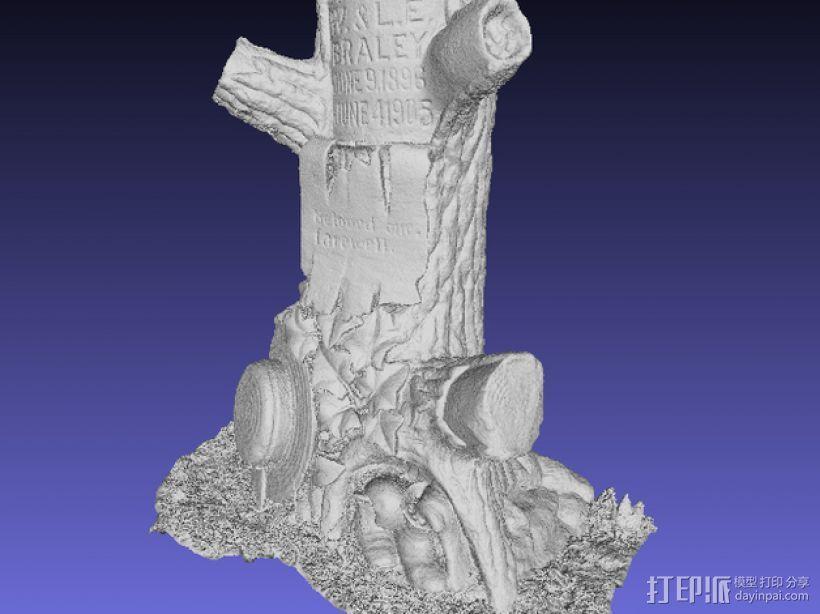 树形墓碑模型 3D模型  图8