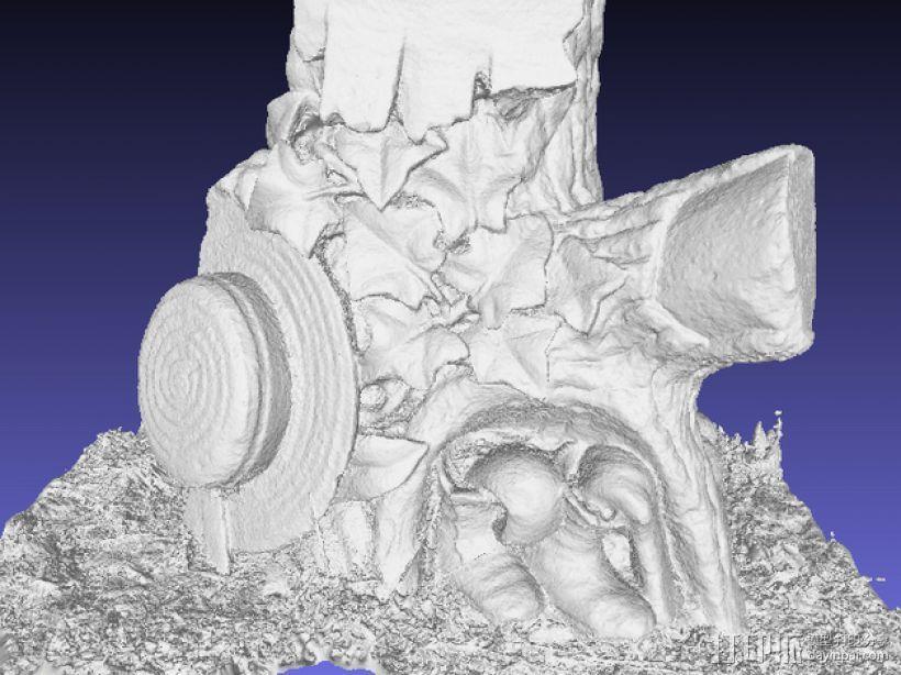树形墓碑模型 3D模型  图6