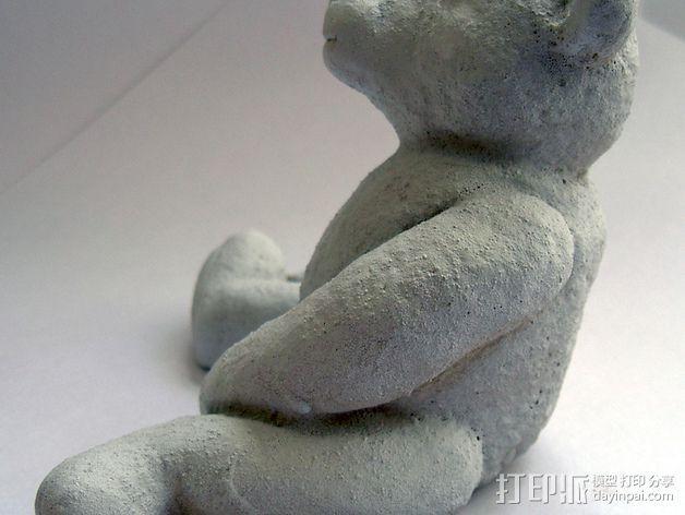 泰迪熊玩偶 3D模型  图5