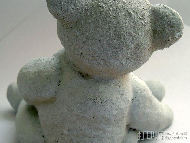 泰迪熊玩偶 3D模型  图6