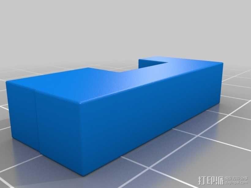 彩色积木 线夹 3D模型  图7