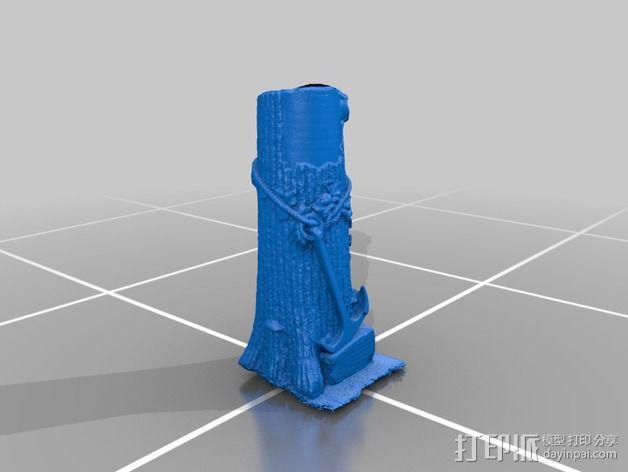 芒特普莱森特公墓墓碑模型 3D模型  图2