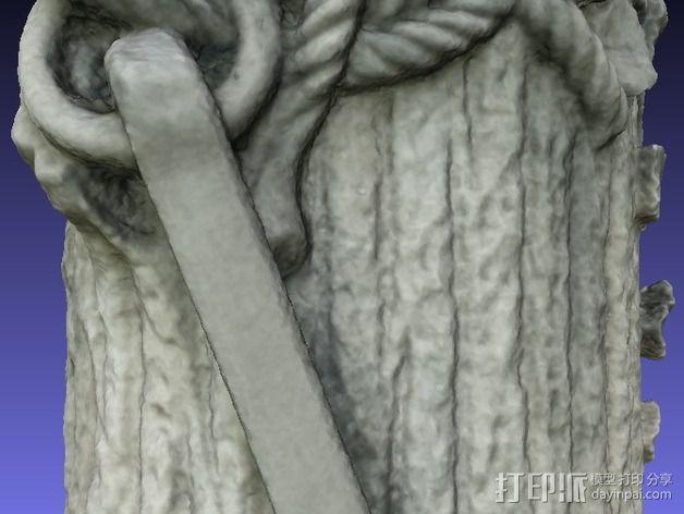 芒特普莱森特公墓墓碑模型 3D模型  图5