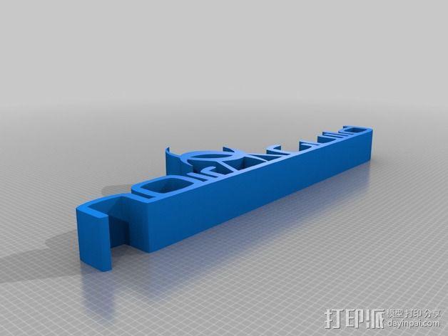 nOir Guild标志 3D模型  图2