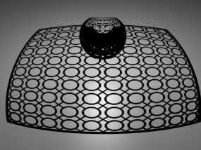立体投影球 3D模型