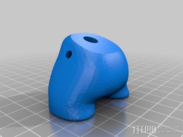 潮流公仔Munny和Dunny模型 3D模型  图7