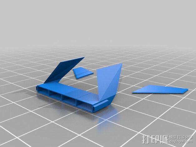 雷鸟飞机模型 3D模型  图6