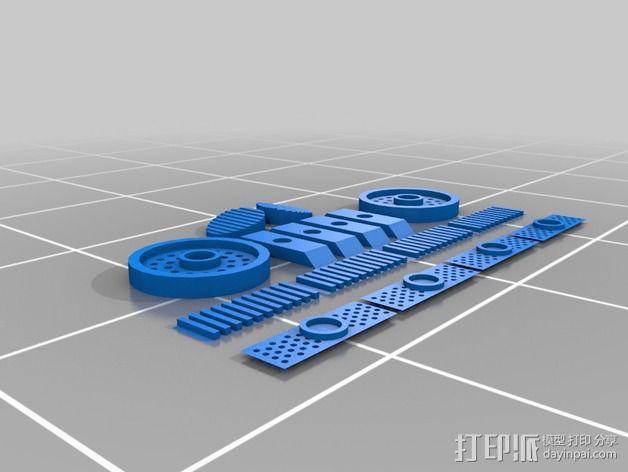 雷鸟飞机模型 3D模型  图10