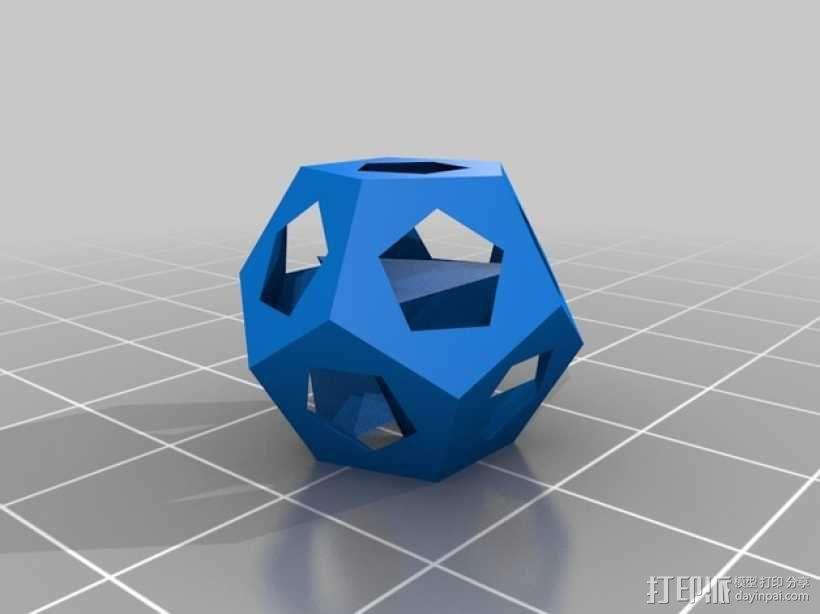 甲烷水合物分子模型 3D模型  图1