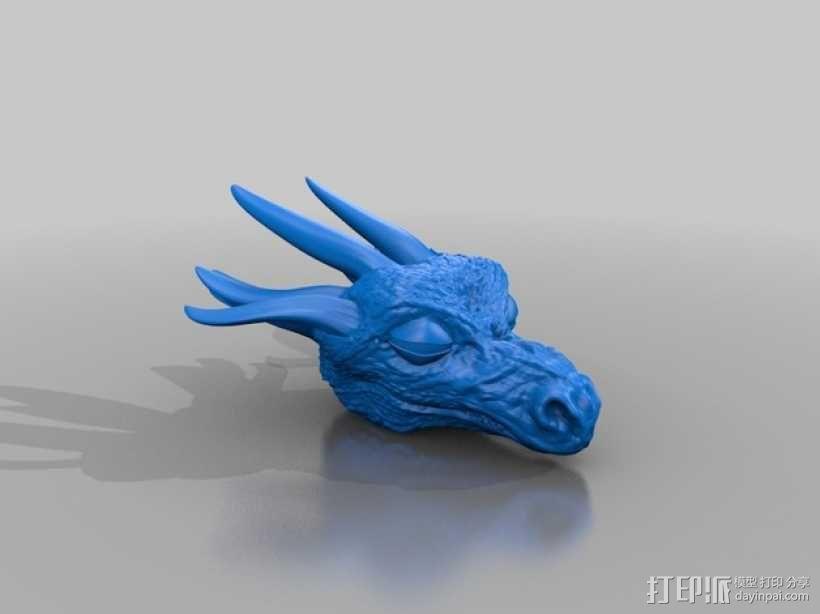 龙头模型 3D模型  图1