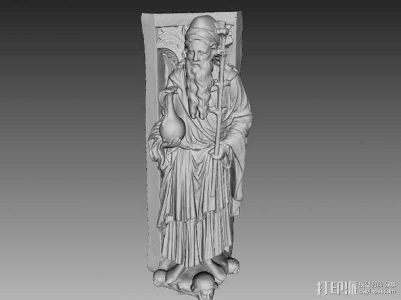 雕塑模型 3D模型  图1